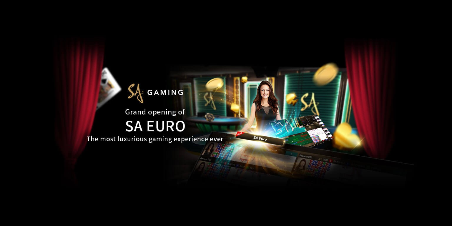 With the SA gaming of baccarat and poker, you can win money without problems