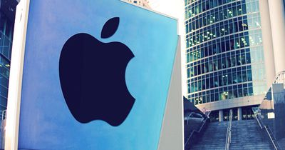 Apple is the second biggest holding firm
