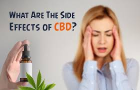 Side effects of CBD products