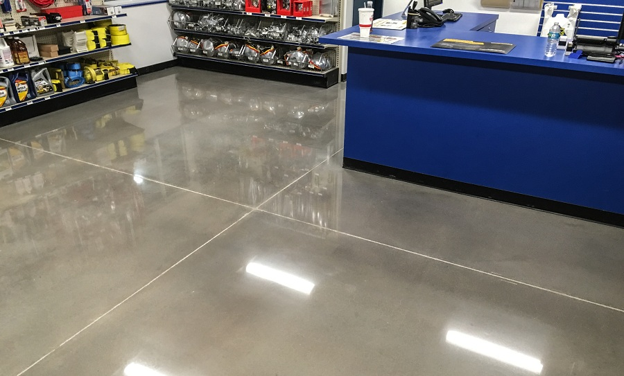 What are the benefits of Concrete Polishing?